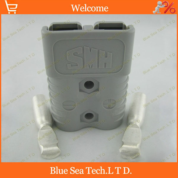 Sample,1 Set New SMH 120A Power Connector Battery Plug,male&female Connectors For forklift electrocar [vk] 553602 1 50 pin champ latch plug screw connectors