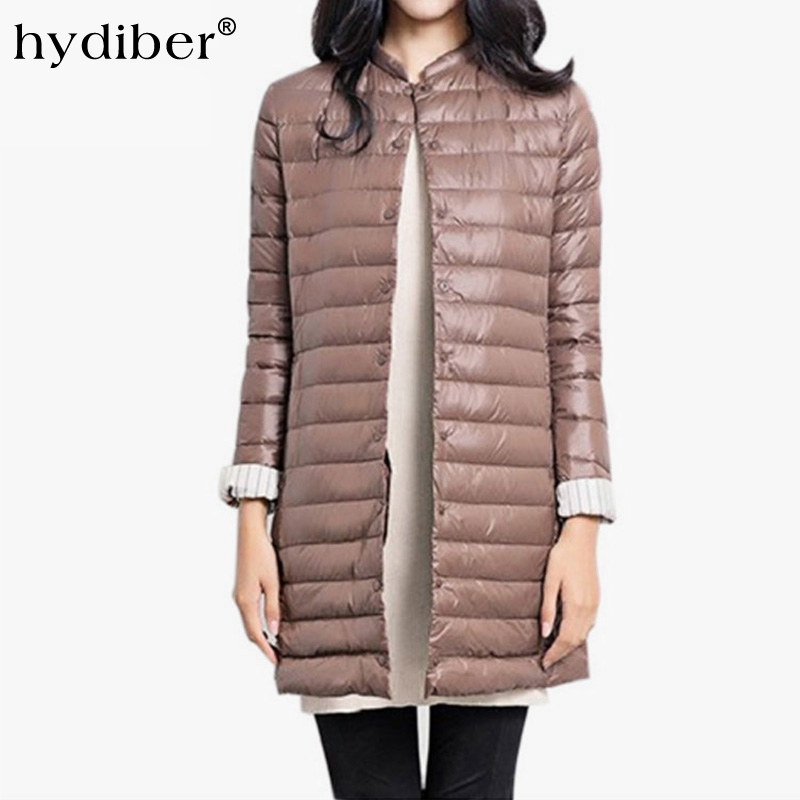 new concept 5a9b6 ee69a HYDIBER Ultralight Giù Cappotto Donne Giacca Invernale ...