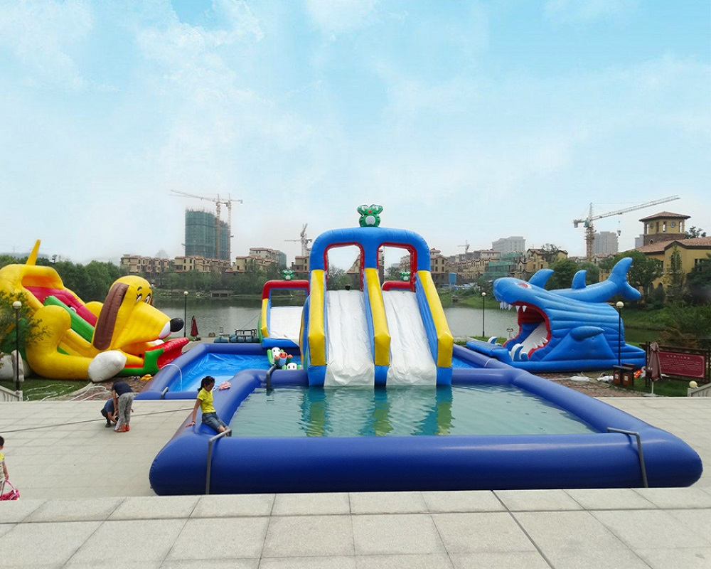 Giant water park equipment inflatable swiming pool