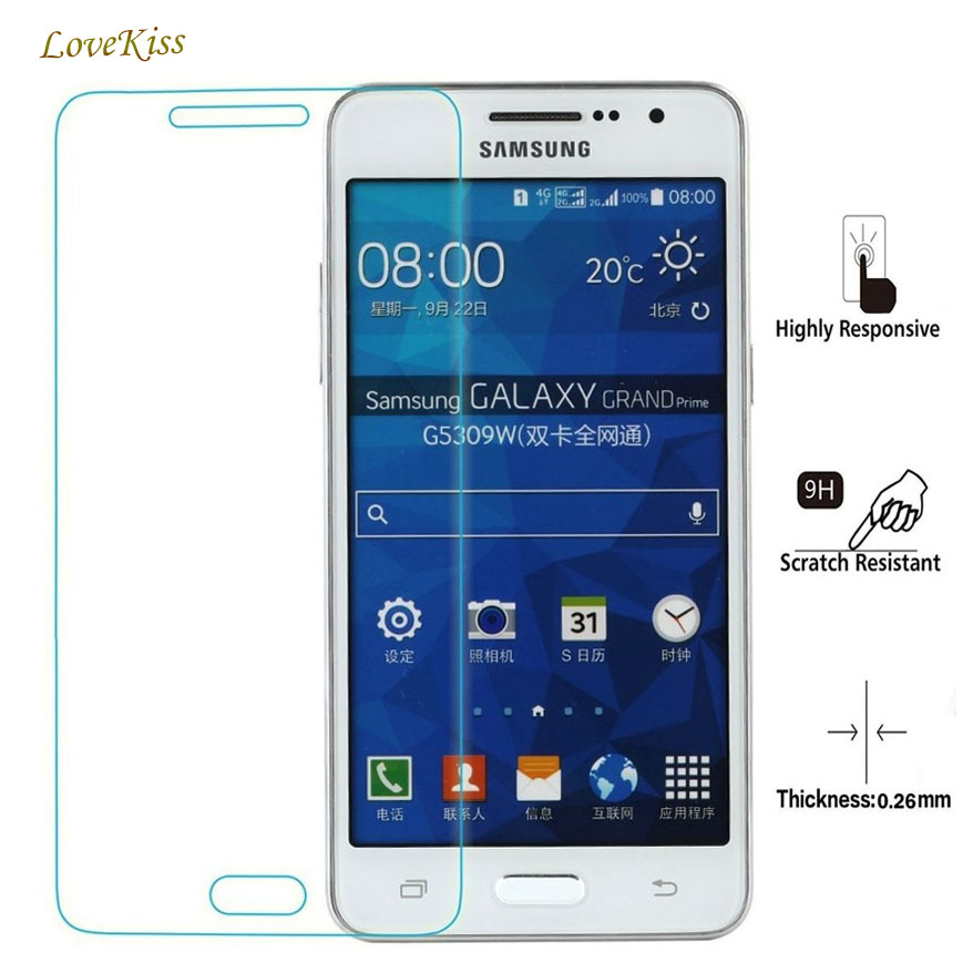 HD 9H Tempered Glass Screen Protector Film For Samsung Galaxy Grand Prime SM-G531F G530 G5308W Duos G531H Protective Film Guard