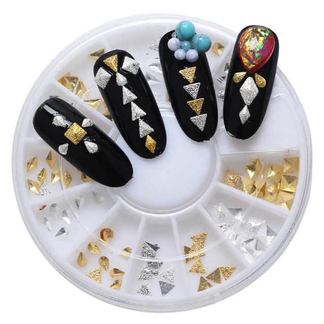 Nail Art Studs And Spikes Choice Image - nail art design simple step ...