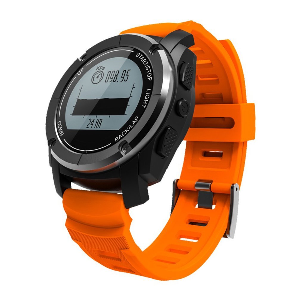 S928 Sport Climb Smart Watch G-sensor GPS Outdoor Heart Rate Monitor Temperature Smart Wristband for Smartwatch Android IOS цена