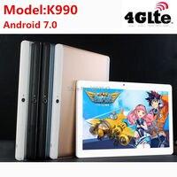 Trasporto Libero 2017 Più Nuovo MTK8752 Octa Core 3G 4G Chiamata di Telefono 10 pollice Tablet PC 4 GB di RAM 32 GB ROM 8.0MP GPS Bluetooth Phablet