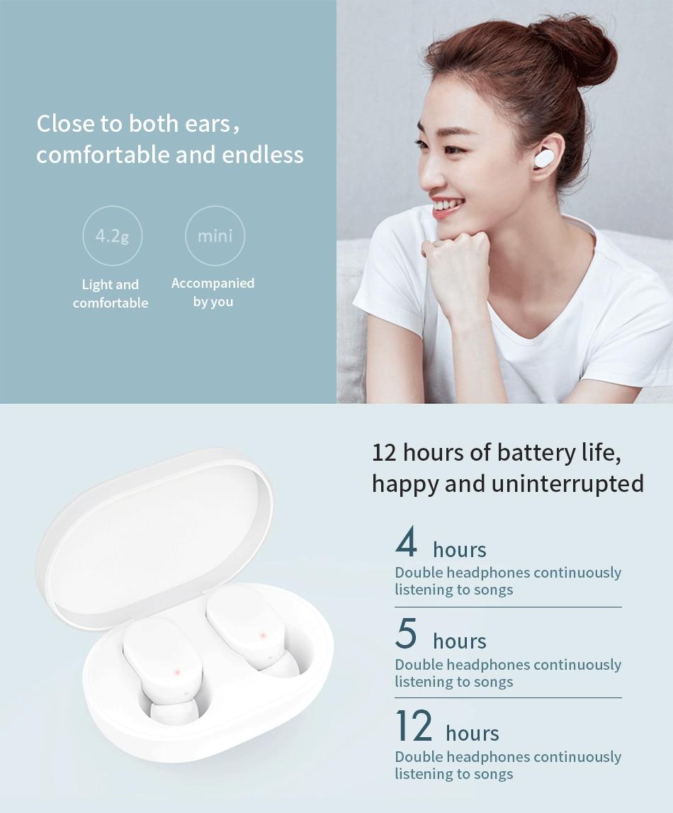 Xiaomi Mi AirDots TWS Bluetooth Earphones Youth Version (17)