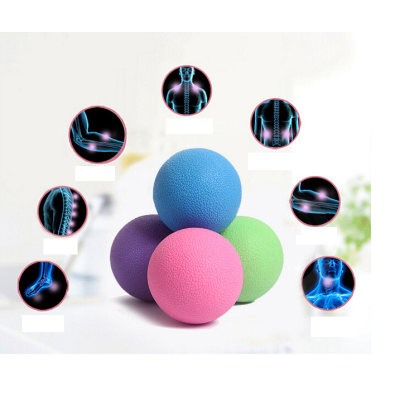 Lacrosse Ball Fitness Relieve Gym Trigger point Massage Ball Training Fascia Hockey Ball Mobility Myofascial Release Body Z15