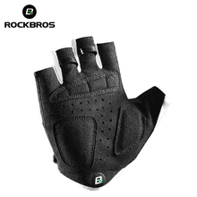 ROCKBROS Cycling Breathable Gel Pad Boys Girl Half Finger Gloves Cycling Bicycle Bike Kids Anti-stock Bike Sports Gloves rockbros cycling bike bicycle gloves half finger gel anti shock breathable elastic bicycle gloves mtb motorcycle sports gloves