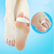 2pcs Silicon Gel Toe Straightener Crests Support Props Beauty Maquiagem Crooked