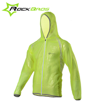 ROCKBROS TPU Raincoat Bike Bicycle Equipment Clothes MTB Cycling Jersey MultiFunction Jacket Rain Waterproof Windproof 3