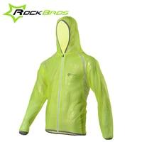 ROCKBROS TPU Raincoat Bike Bicycle Equipment Clothes MTB Cycling Jersey MultiFunction Jacket Rain Waterproof Windproof 3