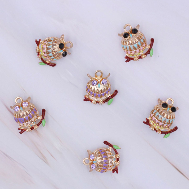 Engood 2018New 100Pcs Hollow Rhinestone Button for DIY Hair accessories or earring and necklace Pendants decoration BT106