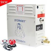 1 PC ST 90 Sauna Gerador De Vapor Para Sauna 9KW 220/380 V Controle de Máquina Para Casa de Banho de Vapor spa Relaxa Cansado de Fumigação|Conjuntos de acessórios para banheiro| |  -