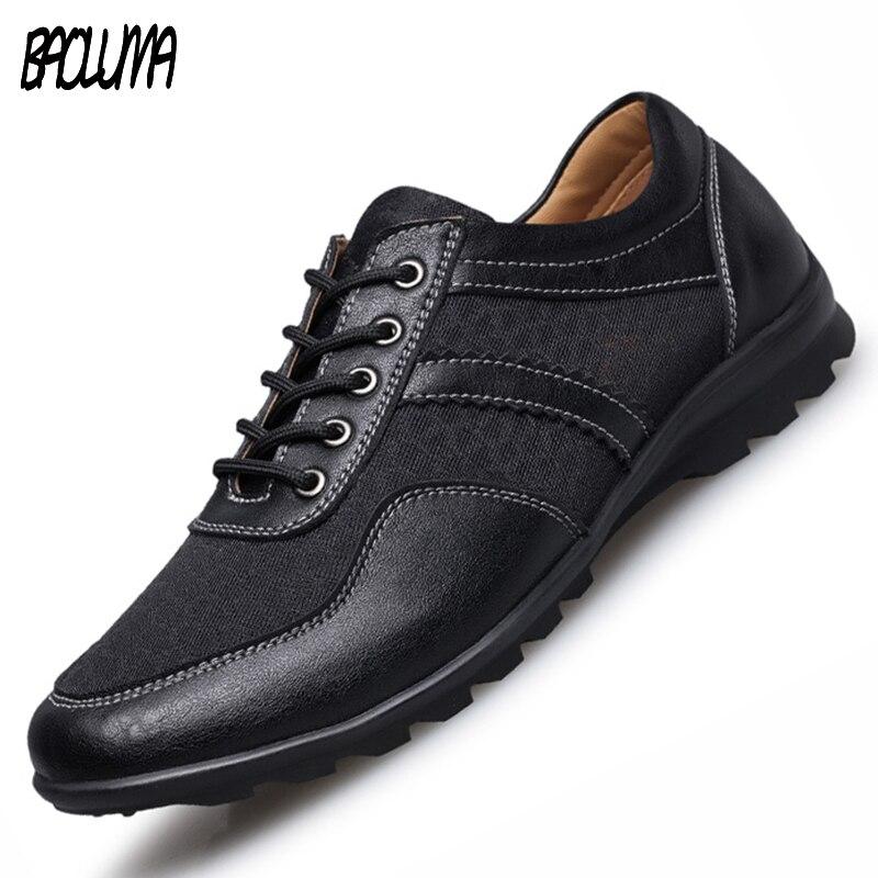 Mens Designer Shoes Mens Designer Trainers Men Breathable Summer Shoes Leather Moccasins Casual Shoes Men Big Size 37~47