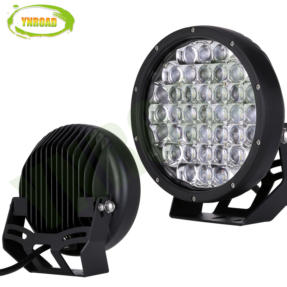 Groovy Ynroad 1Pcs 9Inch Round 370W 5D Black 33300Lm Led Offroad Driving Wiring Cloud Hisonuggs Outletorg