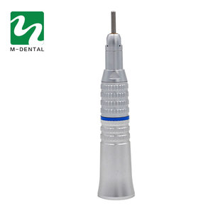Image 2 - 1pc Dental Electric Motor Straight Contra Angle Handpiece For Dental Lab Micromotor Polish Tool Free Shipping