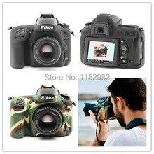Красивые Мягкие Силиконовые Резина Камеры Защитный Чехол Кожа Случае Для Nikon D750 Мешок Камеры