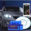 HOT!! OBD mini V2.1 ELM327 Bluetooth OBD2 Auto Scanner OBDII ELM 2 Carro 327 Testador Ferramenta de Diagnóstico para Android Do Windows Symbian