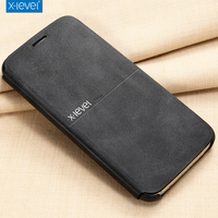 X Level For Samsung Note 5 Case Luxury Leather Protective Armor Flip Phone Case For Samsung