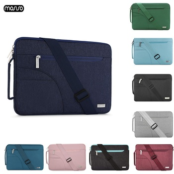 15 6inch multifunction shoulder laptop bag usb charger for macbook 13 15 inch notebook bag anti theft computer bags for men MOSISO Laptop Shoulder Bag 11.6 12 13.3 14 15.6 Inch Case Notebook Bag for Macbook Air Pro 13 15 Computer Handbag Briefcase Bag