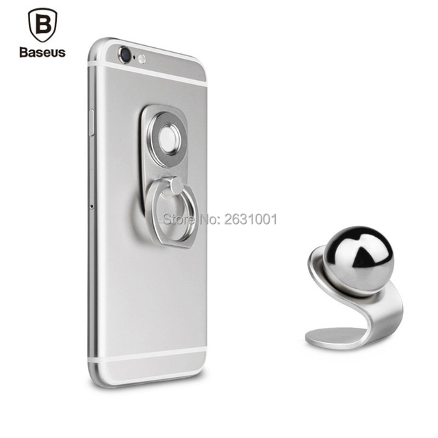 Car Magnetic Holder Car-styling Portable Finger Ring Mount Stand Smartphone Accessories Alumiunm Tablet Desk Lazy Grip Bracket
