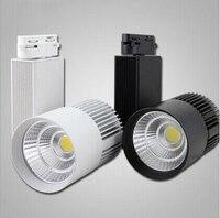 Free shipping(8pcs/lot),LED Track Light 30W COB Rail Light Spotlight Equal 300w Halogen Lamp warm cold natural white rail lamp
