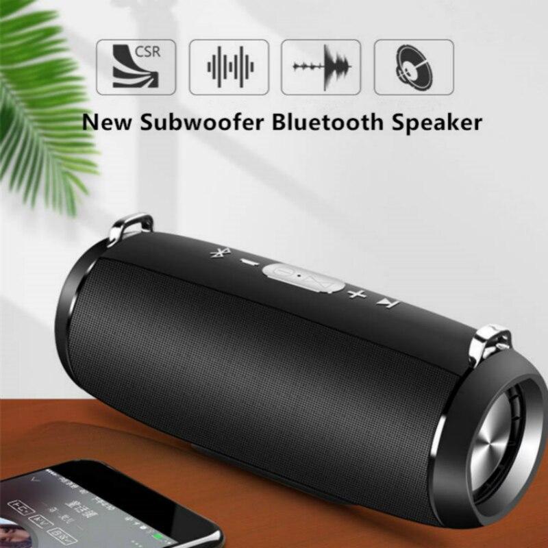 15w Bluetooth haut-parleur colonne fm radio sans fil portable boîte de son mp3 haut-parleur usb subwoofer tf aux boombox PC barre de son