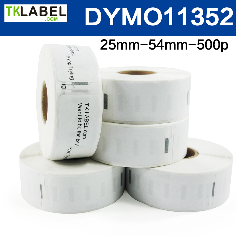 Dymo Label Sticker Roll  99014 / 99012 / 99015 / 11352 / 11356 / 4XL Size Compatible With Dymo Label Printer