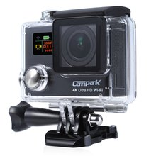 Campark ACT75 Ultra Light Sports Camera Action Cam DV Set Riding Diving Smart WiFi Sport Camera Bluetooth 30m Water Resistant