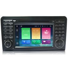 Android 6.0 Two Din 7 Inch Car DVD Player For Mercedes/Benz/GL ML CLASS W164 ML350 ML500 X164 GL320 2G RAM 3G/4G WIFI Radio GPS