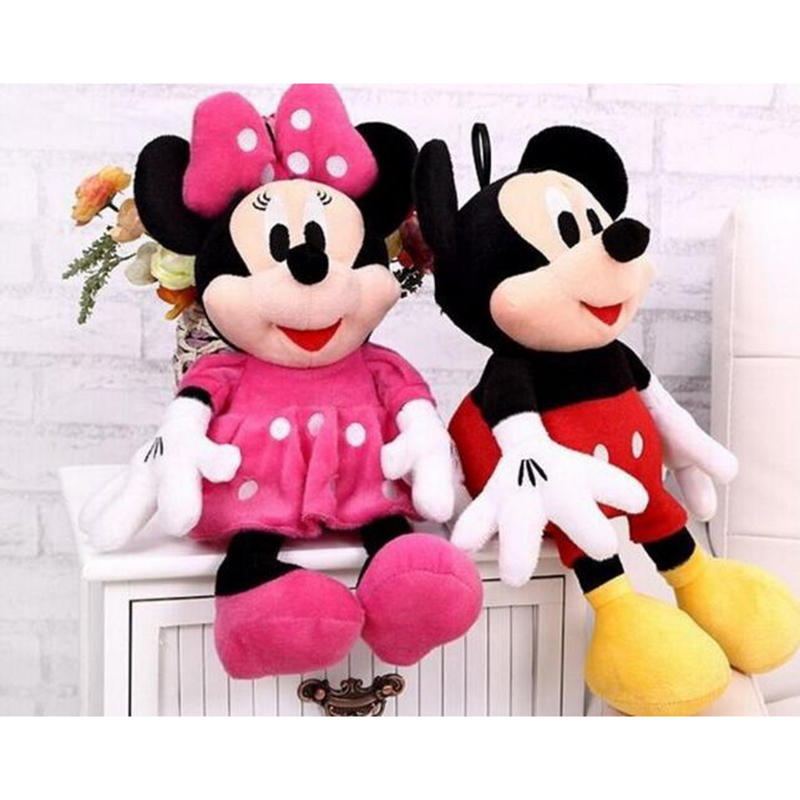 <font><b>New</b></font> 1 Piece 30cm Mini Lovely <font><b>Mickey</b></font> <font><b>Mouse</b></font> And <font><b>Minnie</b></font> <font><b>Mouse</b></font> Stuffed Soft Plush Toys Christmas Gifts m325