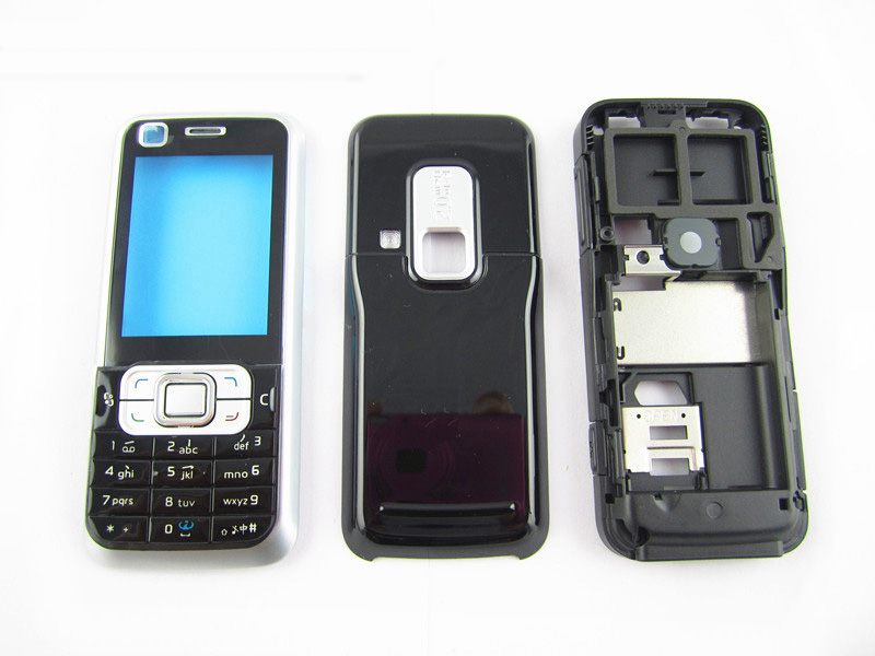 Case Housing-Cover Nokia 6120 Full-Phone New with English OR Russian-Keypad 6120c--Tools