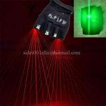 Christmas Decoration Laserman Show Gloves With 3 Pcs Red Lasers With Led Green Palm Light Event & Party Supplies