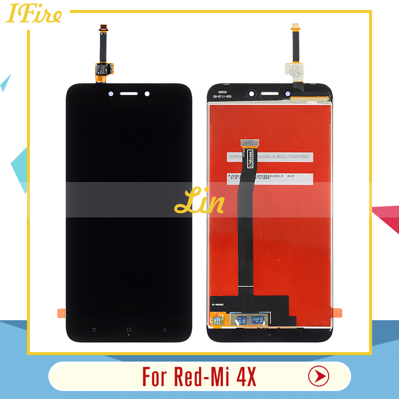 IFire For Xiaomi Redmi 4X LCD display Touch Screen Digitizer Assembly Replacement For hongmi 4X 1pcs free shipping with tools