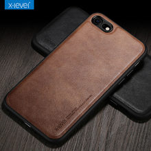 X-Niveau Leather Case voor iPhone 8 7 6 6 s Plus Gevallen Ultra Light Slim Shockproof Cover Case voor iPhone 6 6 s 7 8 Case Coque(China)