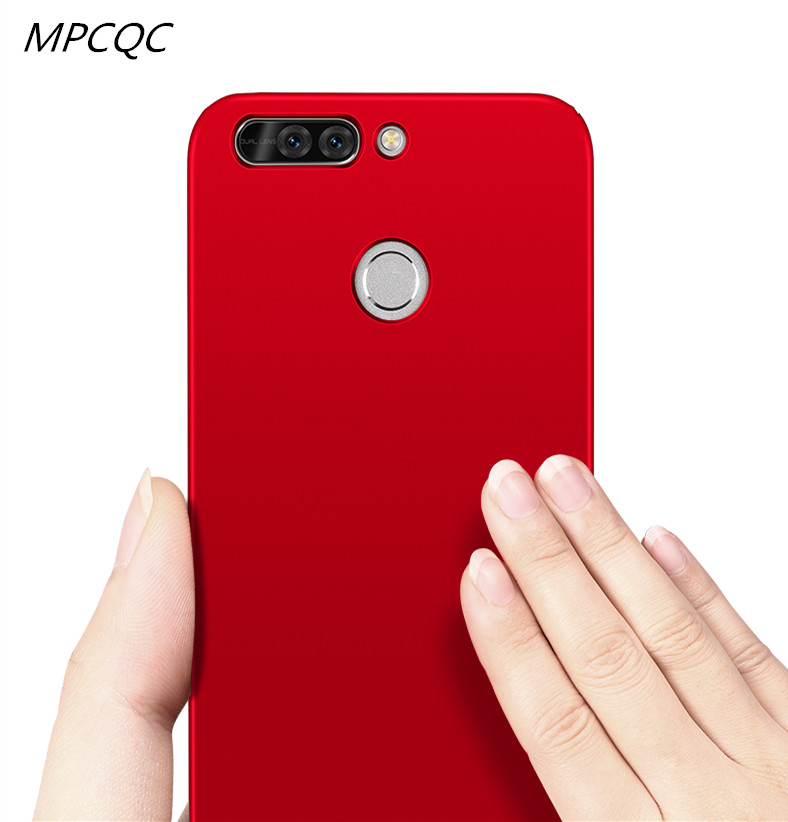 MPCQC Fashion Soft Matte Case For Huawei Honor V9 Play/9 Lite 8 Lite/8 9 V10 P8 Lite 2017 Case 360 Degree Cover Plastic Cases