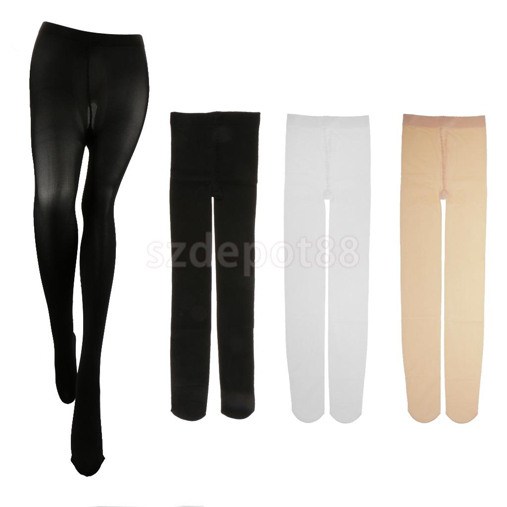 74e8037fb788 Kid's Dance Control Top Pantyhose Adult Velvet Footed Tights Stockings Dance  Costume Girl's Tights White/Black-in Tights from Underwear & Sleepwears on  ...