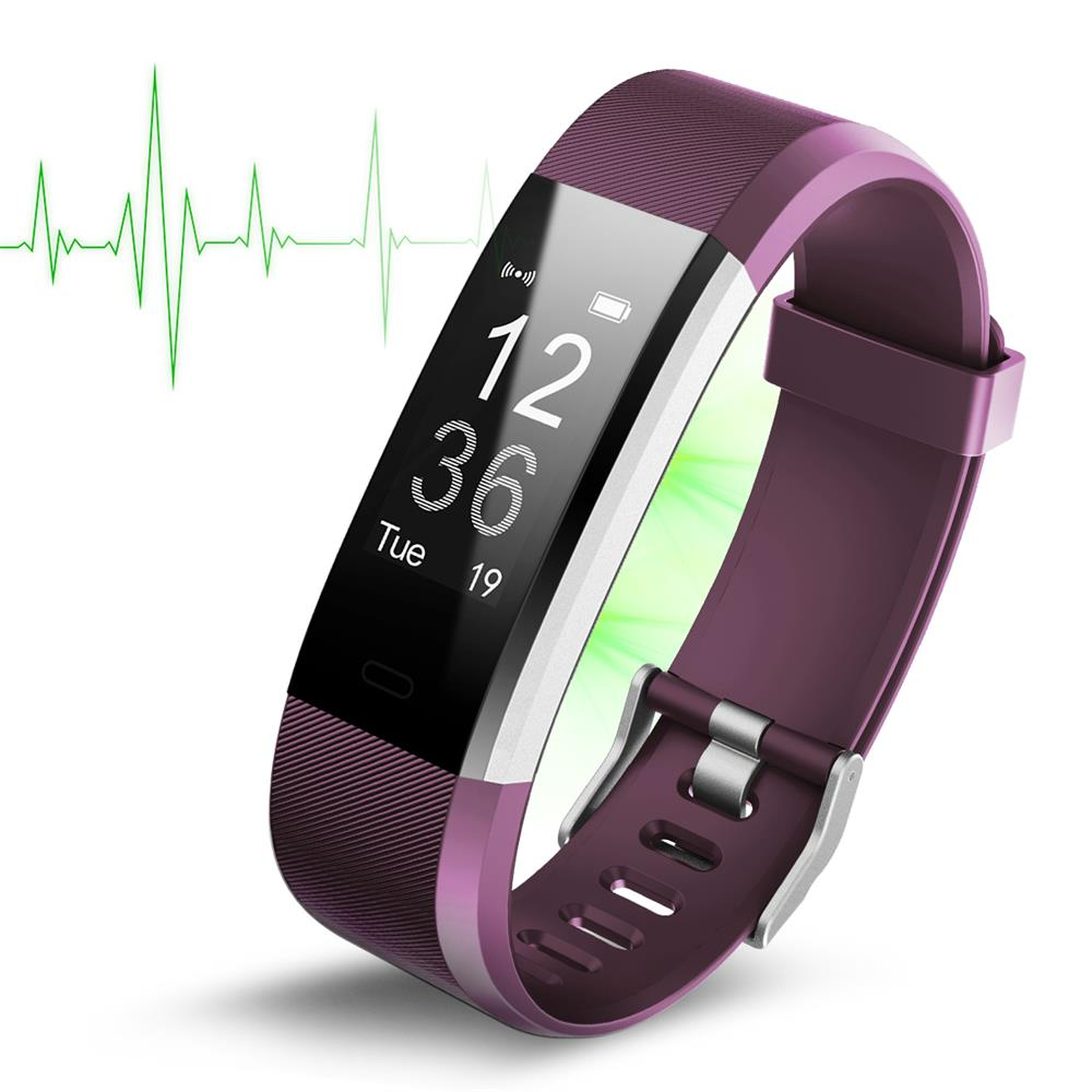 2018 Smart Wristband Star 4 Fitness Tracker Smart Watch Sport Bracelet Japan Nordic Chip Oled Screen Andriod Bracelet