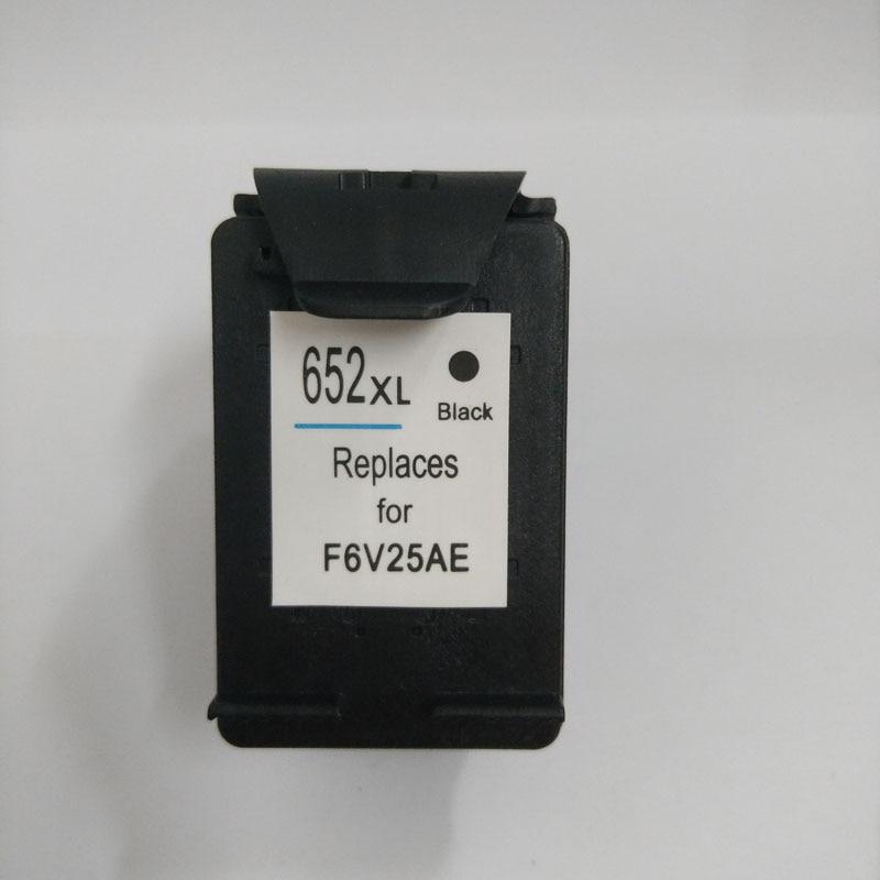 Vilaxh 652XL uyğun siyah kartrici HP 652 xl 652XL Deskjet - Ofis elektronikası - Fotoqrafiya 2