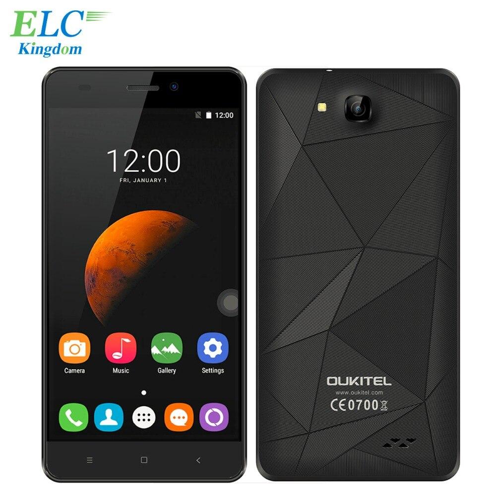 Original Oukitel C3 Smartphone Android 6 0 MTK6580 Quad Core 1GB RAM 8GB ROM 5 0