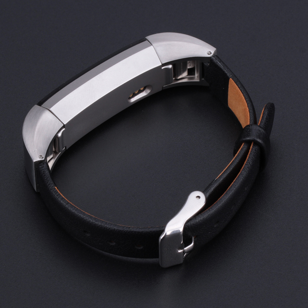 3 Colors Stainless steel classic buckle Genuine Leather Accessory Band Watch Strap Calssic Buckle for Fitbit Alta L3FE