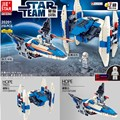 New Arrival 2IN1 Star Wars 7 X-Wing Warship Spaceship Fighter Model Building Blocks Educational Bricks Toy For Xmas Gifts