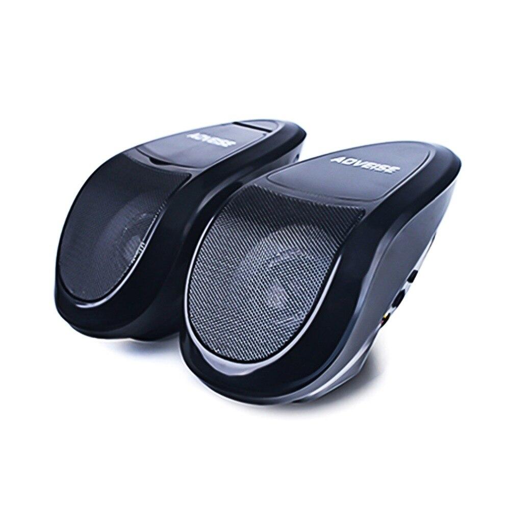 SOONHUA Водонепроницаемый мотоцикл bluetooth динамики MP3 радиотюнер FM стерео динамики TF U диска усилитель с управляемой СВЕТ