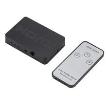 Larryjoe 3x1 HDMI ספליטר 3 נמל Hub תיבת אוטומטי מתג 3 ב 1 מתוך Switcher 1080p HD 1.4 עם שלט רחוק עבור HDTV XBOX360 PS3