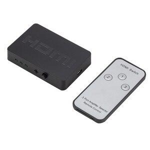 Image 1 - Larryjoe 3x1 rozdzielacz HDMI 3 portowy Hub Box Auto przełącznik 3 w 1 na zewnątrz przełącznik 1080p HD 1.4 za pomocą pilota zdalnego sterowania do telewizora HDTV XBOX360 PS3