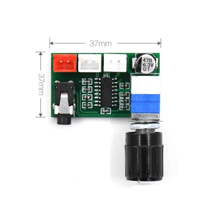 SOTAMIA PAM8403 carte Audio amplificateur 2x3W amplificateur de puissance numérique stéréo entrée AUX alimentation USB 5V avec bouton de Volume ampli Audio domestique