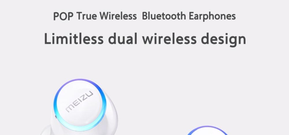 Meizu POP TW50 True Wireless Bluetooth Earphones 5.8g Mini TWS Sport Bluetooth V4.2 Headset For iphone 7 Plus auricular H0 (4)