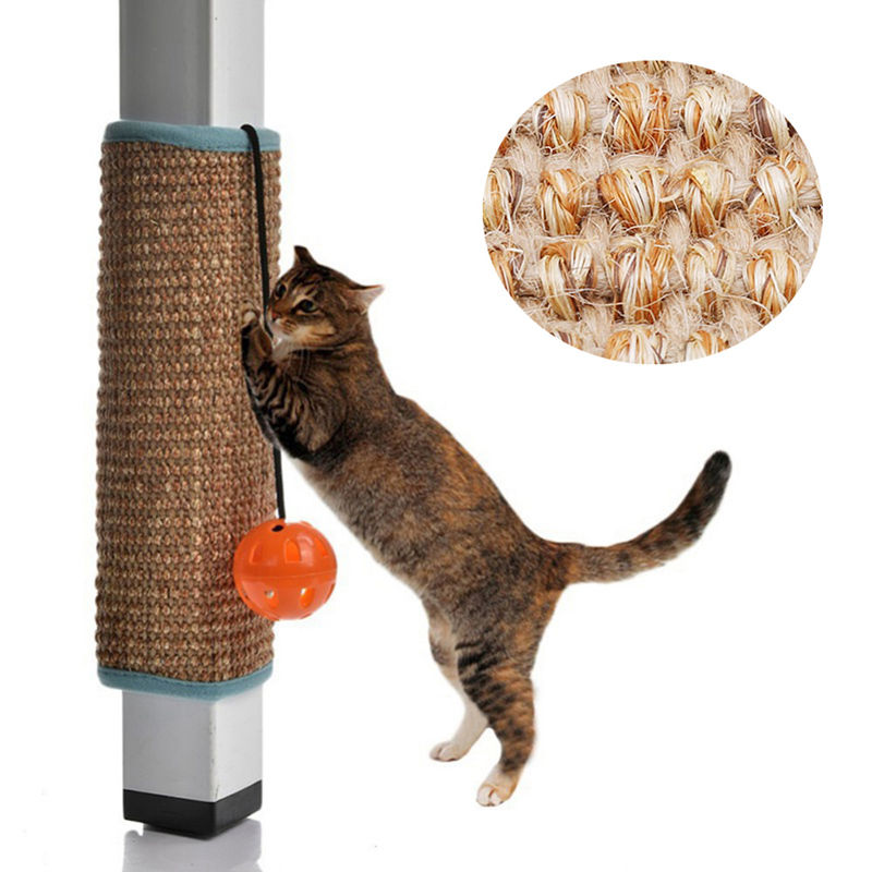 Hot Scratching Board Mat Pad Cat Sisal Loop Carpet Scratcher Indoor Home Furniture Table Chair Sofa Legs Protector Pet Toy Furniture & Scratchers