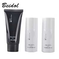 3pcs Lot Face Care Peel Off Facial Suction Black Masks Brand PILATEN Blackhead Remover Set Acne