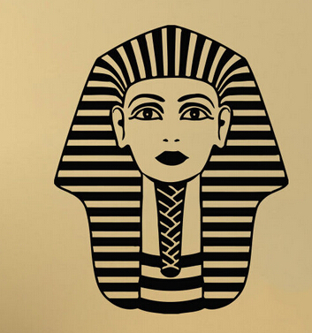 The Egypt Vinyl Wall Decal Countries Tutankhamun Ancient Egypt ...
