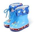 Младенческая Девушка Зима Дождь Сапоги Дети Дети Дождь Снег Сапоги Малыша ребенок Дождь Рождественские Туфли Овец Теплый 1 Месяцев 2 3 Лет старый