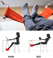 Hammock For Office Siesta Afternoon Sleep Nap With Desk Hanger Hammock Rest Foot Noon Time Snooze